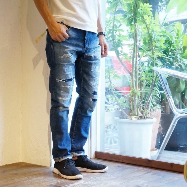 画像1: 【JAPAN BLUE JEANS】12oz タイトストレートジーンズ「Santa Monica/サンタモニカ」 (1)