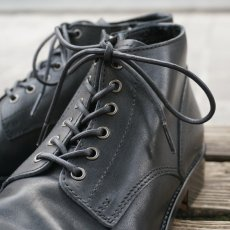 画像2: 【PADRONE/パドローネ】CHUKKA BOOTS with SIDE ZIP / BAGGIO (ブラック) (2)