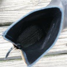 画像4: 【PADRONE/パドローネ】バックジップブーツ (ブラック) (4)