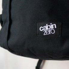 画像2: 【CABIN ZERO/キャビンゼロ】トラベルバックパック CABIN BAG(ブラック/28L) (2)