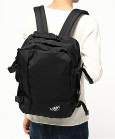 画像6: 【CABIN ZERO/キャビンゼロ】トラベルバックパック CABIN BAG(ブラック/28L) (6)