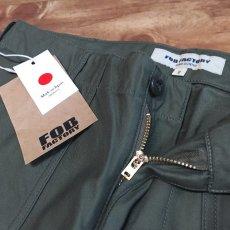 画像5: 【FOB FACTORY/エフオービーファクトリー】BAKER PANTS ベイカーパンツ(オリーブ) (5)