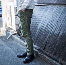 画像3: 【FOB FACTORY/エフオービーファクトリー】BAKER PANTS ベイカーパンツ(オリーブ) (3)