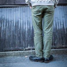画像4: 【FOB FACTORY/エフオービーファクトリー】BAKER PANTS ベイカーパンツ(オリーブ) (4)
