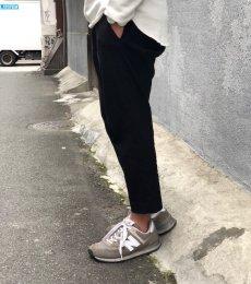 画像2: 【melple/メイプル】トムキャットリラックスパンツ(ブラック) (2)
