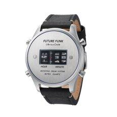 画像2: 【FUTURE FUNK /フューチャーファンク】FF102 ANA-DEGI ウォッチ(シルバー) (2)