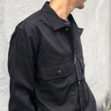画像2: 【W/D】ミリタリー カバーオール ジャケット(BLK) (2)
