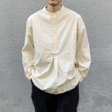 画像1: 【Miltary】ブルガリア軍50'sグランパシャツ(3colors) (1)