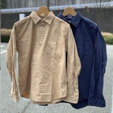 画像1: 【SpinnerBait/スピナーベイト】馬布ヴィンテージプルオーバーシャツ/ラモスシャツ(2color) (1)