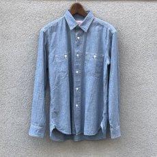 画像9: 【BIGMIKE/ビッグマイク】シャンブレーワークワークシャツ(2color) (9)