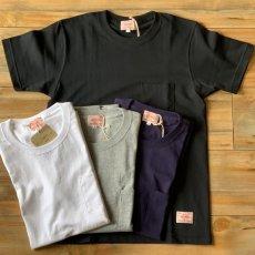 画像1: 【BIGMIKE/ビッグマイク】USAコットン 7.2オンス ヘビーウェイト 無地ポケットTシャツ(4colors) (1)