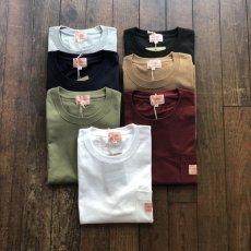 画像1: 【BIGMIKE/ビッグマイク】USAコットン 7.2オンス ヘビーウェイト サングラスポケット付き無地Tシャツ(7colors) (1)