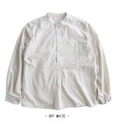 画像11: 【Miltary】ブルガリア軍50'sグランパシャツ(3colors) (11)
