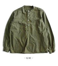 画像12: 【Miltary】ブルガリア軍50'sグランパシャツ(3colors) (12)