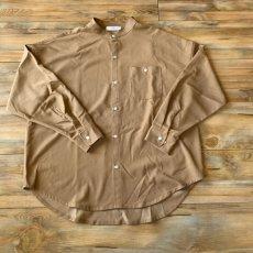 画像3: 【W/D】オーバーサイズ バンドカラーシャツ (3color) (3)