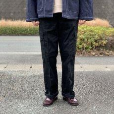 画像7: 【イギリス警察】カーゴトラウザー ブラック (7)