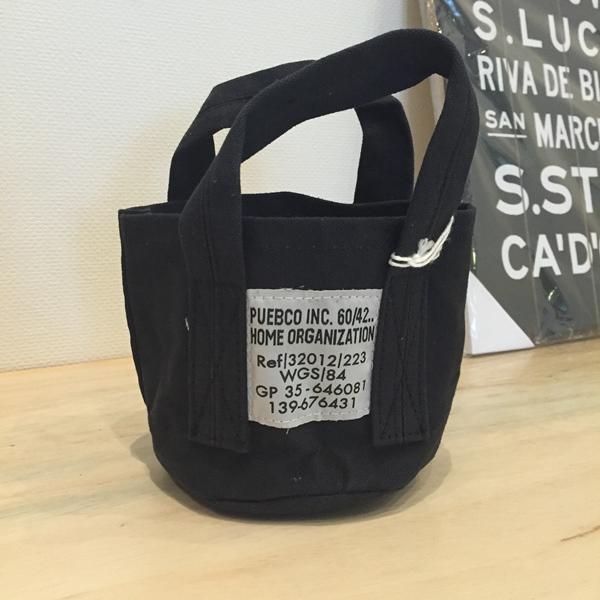 画像1: 【PUEBCO】Small Bag / BLACK (1)
