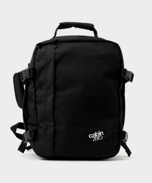 画像1: 【CABIN ZERO/キャビンゼロ】トラベルバックパック CABIN BAG(ブラック/28L) (1)