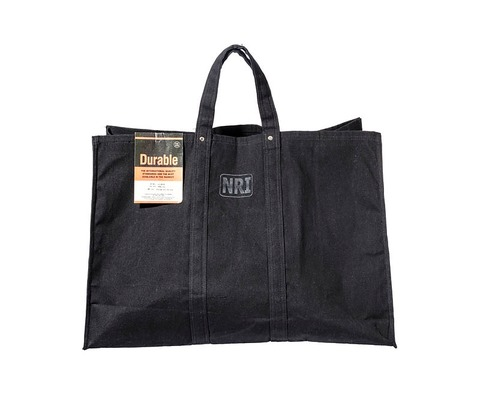 画像1: 【PUEBCO】LABOUR TOTE BAG Large Black (1)