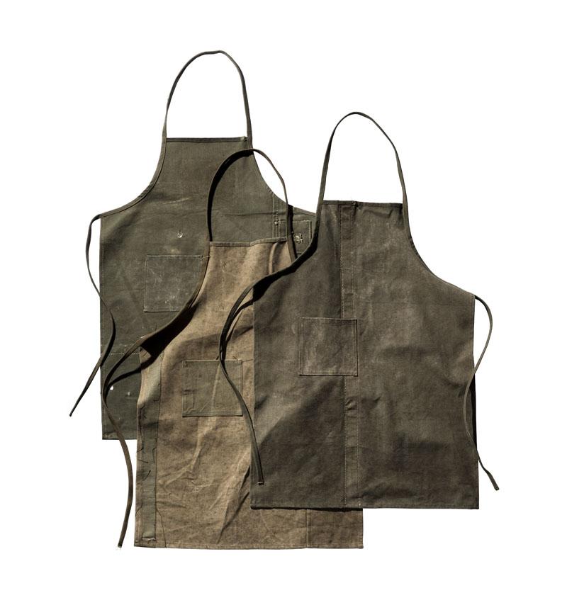 画像1: 【PUEBCO】 Vintage Fabric Tent Apron/ ヴィンテージファブリック テント エプロン (1)