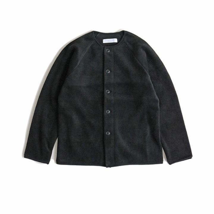 画像1: 【SETTO】FUWATORO CARDIGAN ブラック (1)