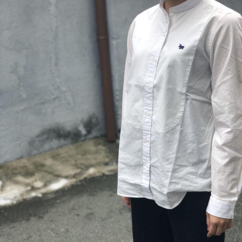 画像1: 【s&nd/セカンド】シャンブレータキシードシャツ  (1)