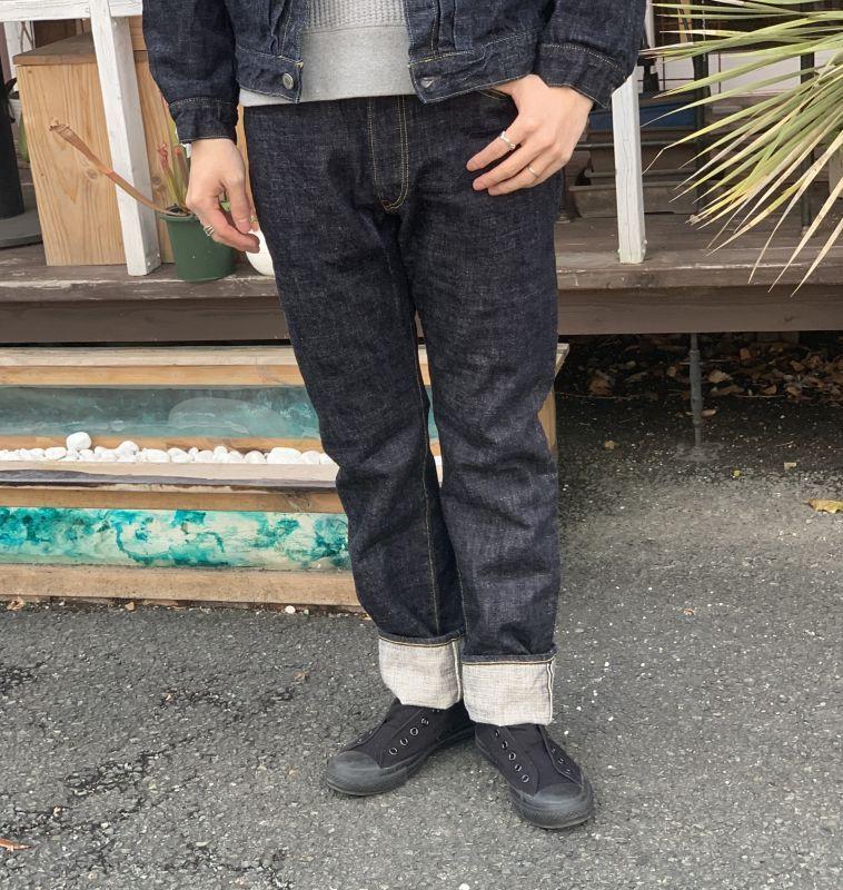 画像1: 【FOB FACTORY】G-3 5ポケットデニム (WA) (1)