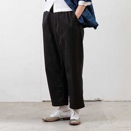 画像1: 【SETTO】WIDE TUCK PANTS (2color) (1)