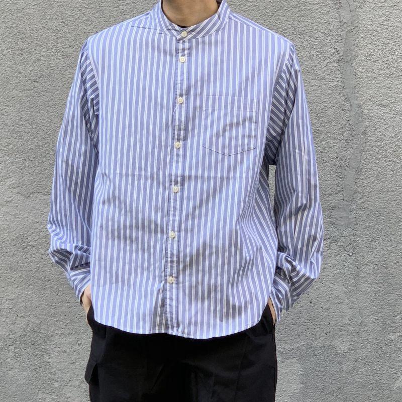 画像1: 【W/D】ブロードバンドカラーシャツ (2color) (1)