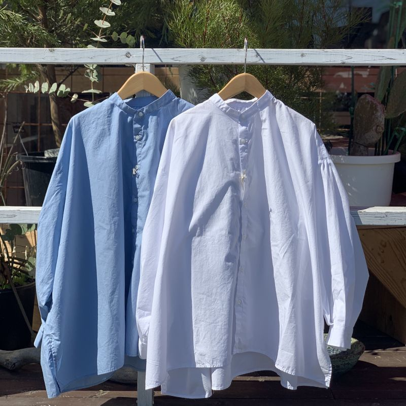画像1: 【SETTO/セット】 VOLUME SHIRT (2color) (1)