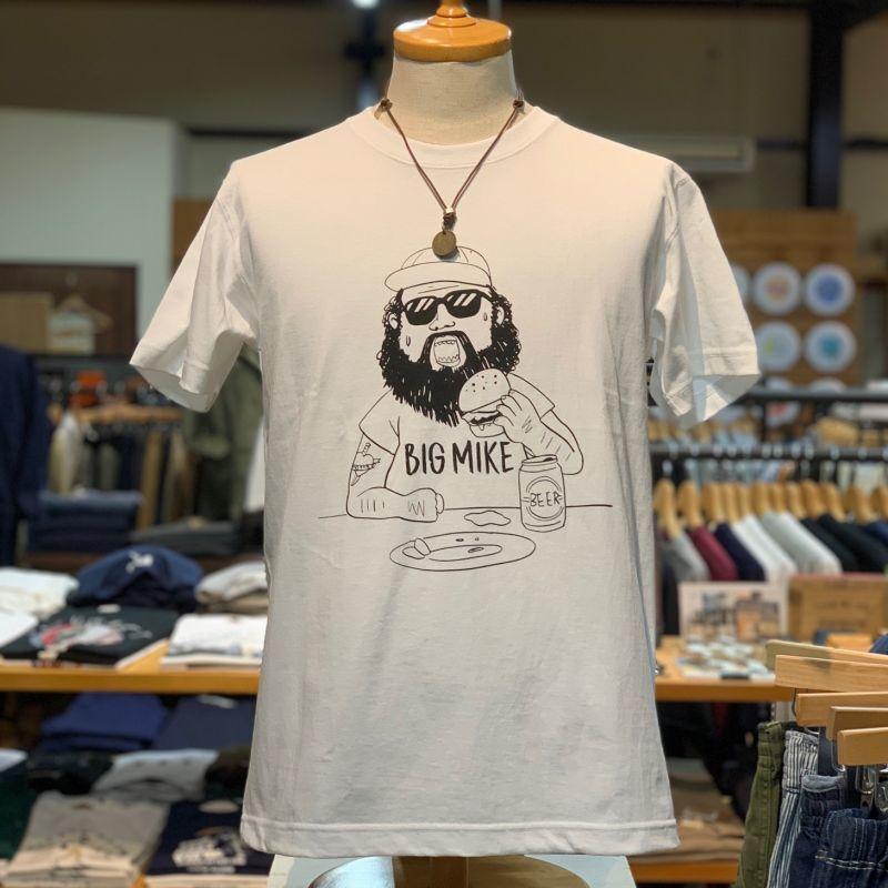 画像1: 【BIGMIKE/ビッグマイク】USAコットン 7.2オンス ヘビーウェイト プリントTシャツ(3colors) (1)