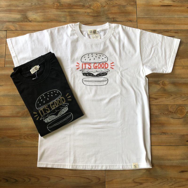 画像1: プリントロゴTシャツ 『IT'S GOOD』(2color) (1)
