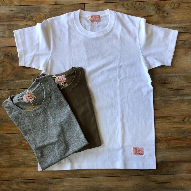 画像1: 【BIGMIKE/ビッグマイク】USAコットン 7.1オンス ヘビーウェイト 無地Tシャツ(3colors) (1)