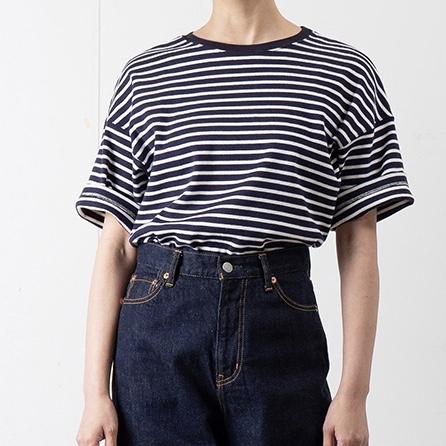 画像1: 【SETTO/セット】DROP-Tshirt (2color) (1)