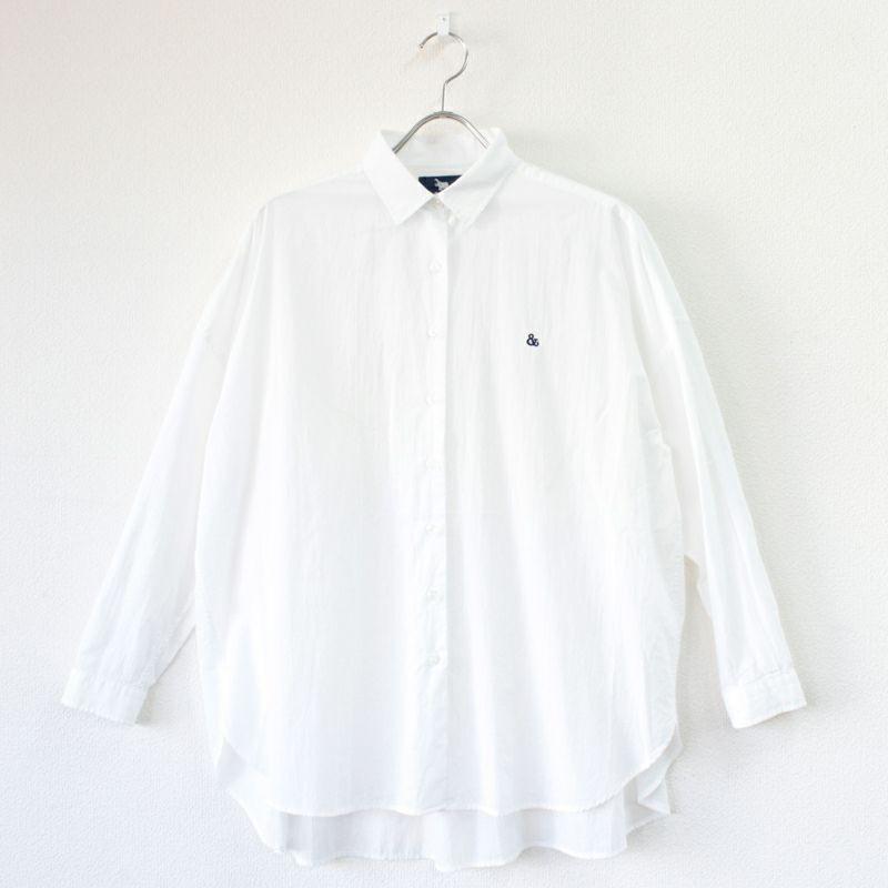 画像1: 【s&nd/セカンド】綿ローンチュニックシャツ(2colors) (1)