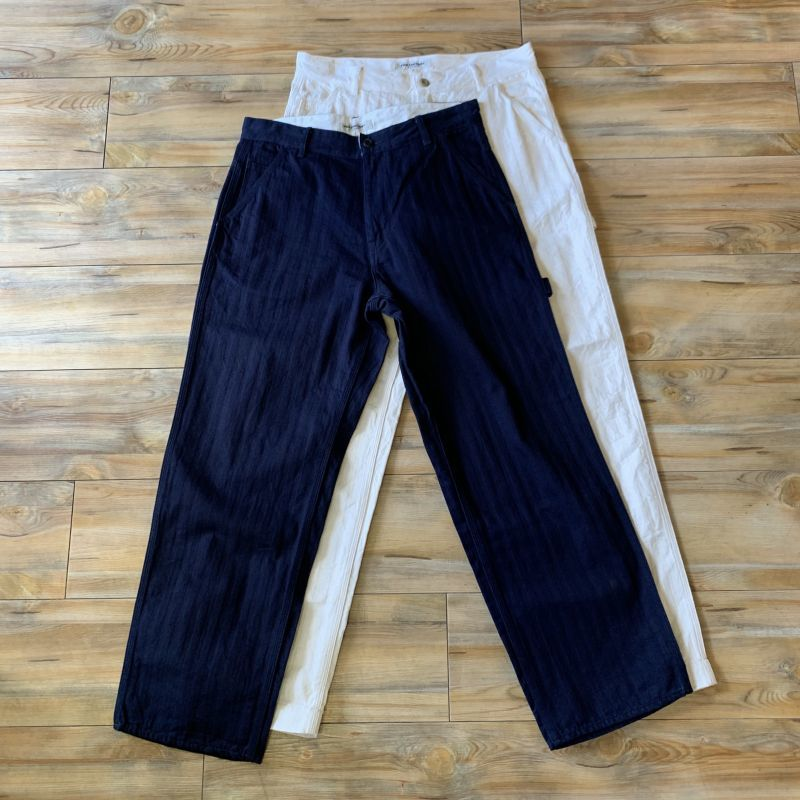 画像1: 【FOB FACTORY】HBT PAINTER PANTS(2colors) (1)