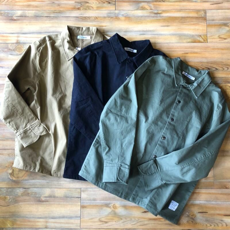 画像1: 【RanchStandard】ストレッチツイルコンフォートシャツジャケット(3colors) (1)