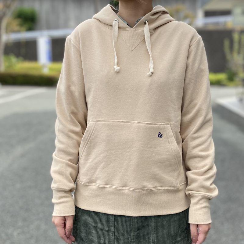 画像1: 【S&nd/セカンド】裏毛プルパーカー(2color) (1)