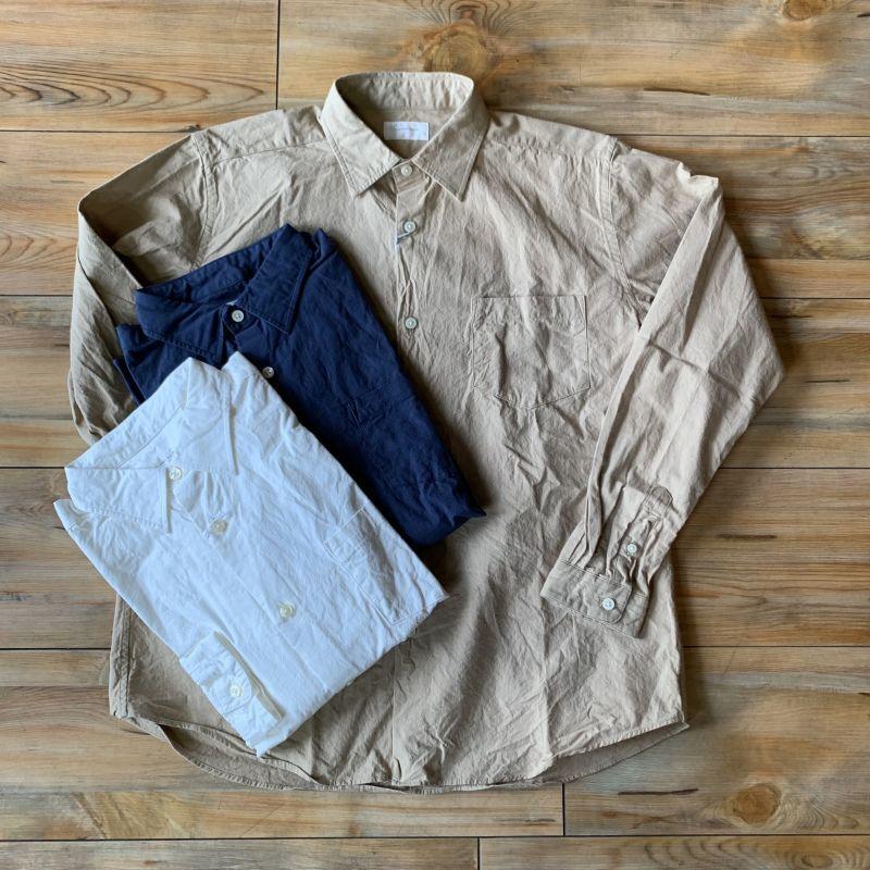 画像1: 【SpinnerBait/スピナーベイト】馬布ヴィンテージフィニッシュシャツ/オグリシャツ(3color) (1)
