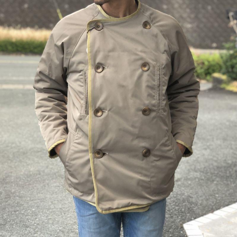 画像1: 【melple/メイプル】Franklin coat フランクリンコート(2colors)   (1)
