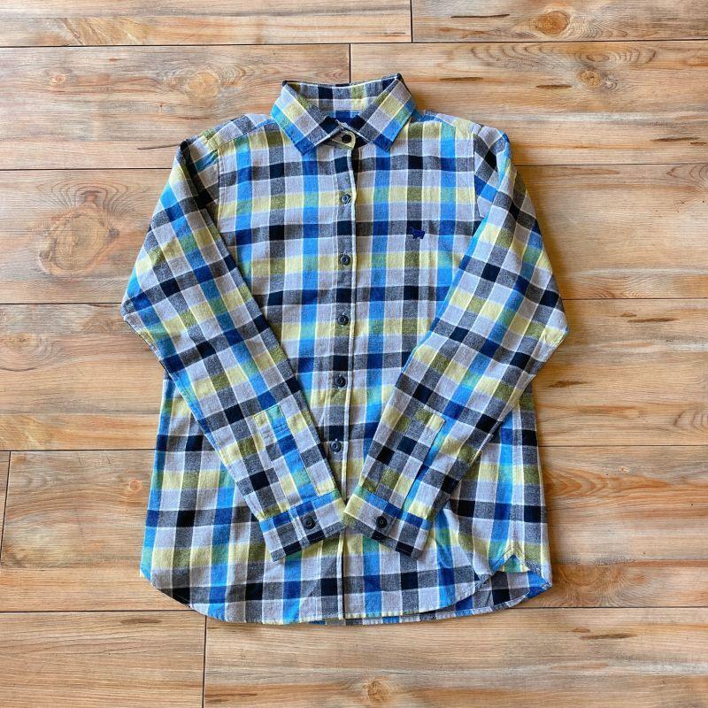 画像1: 【S&nd/セカンド】ビエラトップチェックシャツ (1)