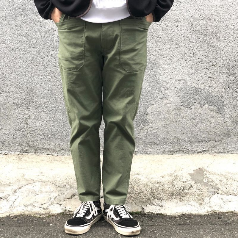 "画像1: 【Kelen/ケレン】""ARTHUR"" TOOL POCKET PANTS 【KHAKI】 (1)"